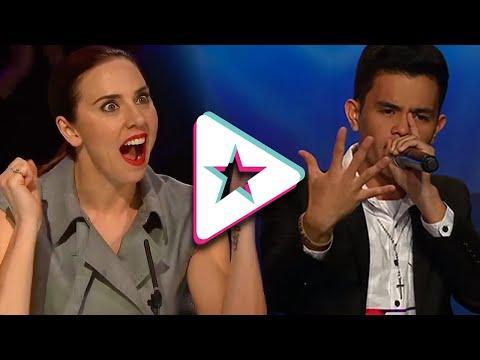 INSANE Beatboxer Neil Rey B-B-B-Blows Spice Girls Judge Away On Asia's Got Talent!