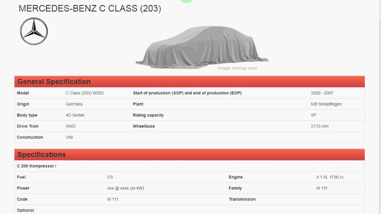 Toyota Vin Decoder >> Wmi Auto Data Vin Decoder Mercedes Bmw Land Rover Toyota