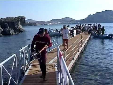 υποβρύχιο ψάρεμα ΛΗΜΝΟΣ 2005