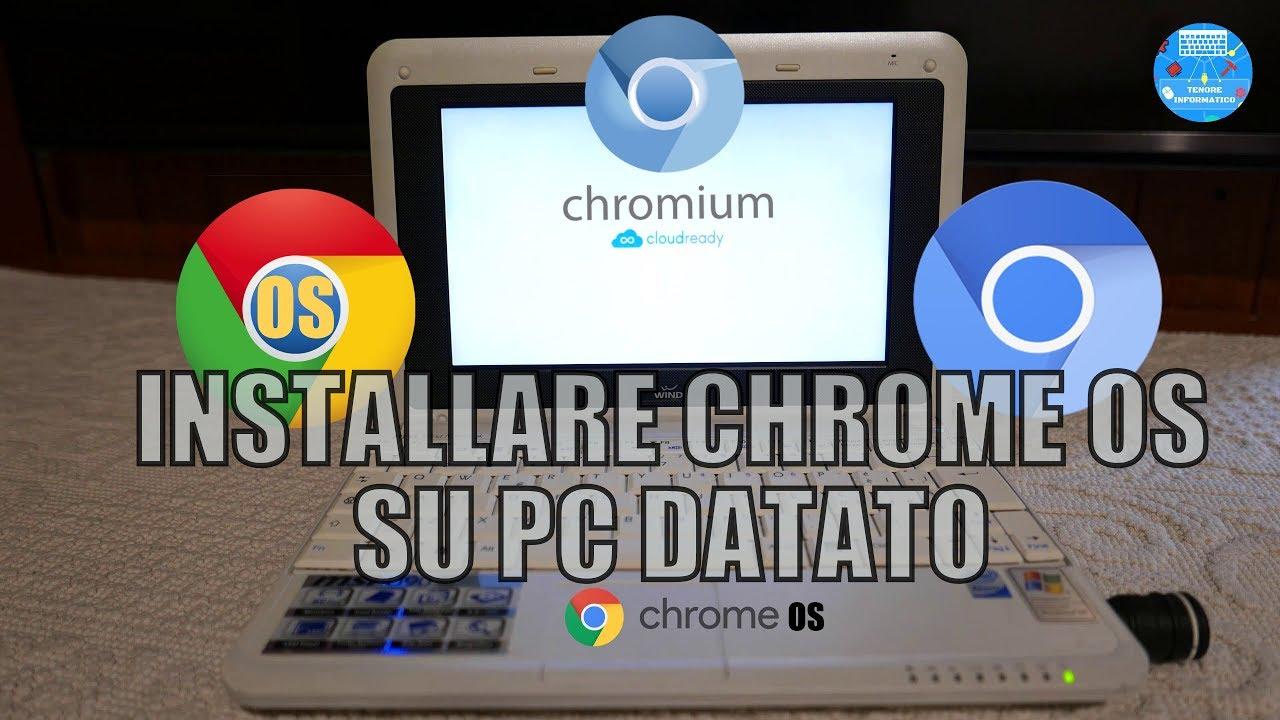 Come Trasformare un PC in Chromebook