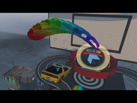 FIETS versus VRACHTWAGENS! (GTA V Online Transform Races)
