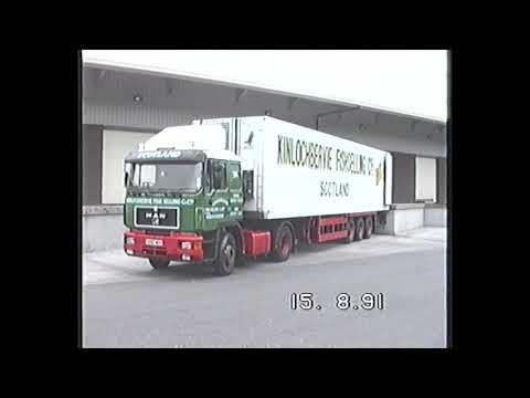 TRUCKS AT KINLOCHBERVIE 1991