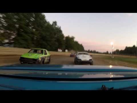 Deerfield Raceway Compact Heat win 7/29/17 rear facing