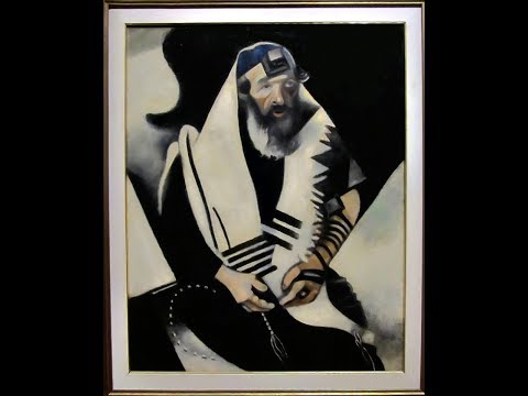 "REMEMBRANCE OF THE HOLOCAUST - ""The Rabbi of Vitebsk"" by Mark Chagall"
