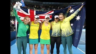 Barty and Stosur secure dramatic win | Fed Cup 2019