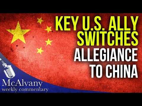 Key U.S. Ally Suddenly Switches Allegiance To China | McAlvany Commentary 2016