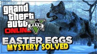 GTA 5 PS4 Next Gen Gameplay ! GTA Murder Mystery Solved? | GTA 5 Peyote Animals Easter Eggs (GTA V)