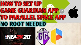 How to set up Gameguardian with parallel Space app No Root needed