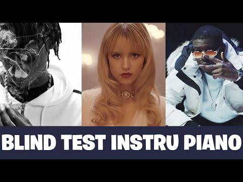 BLIND TEST INSTRU PIANO + BASSES [ TOUT GENRE RAP , VARIETES FR]