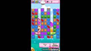 Candy crush saga level 1032 No booster