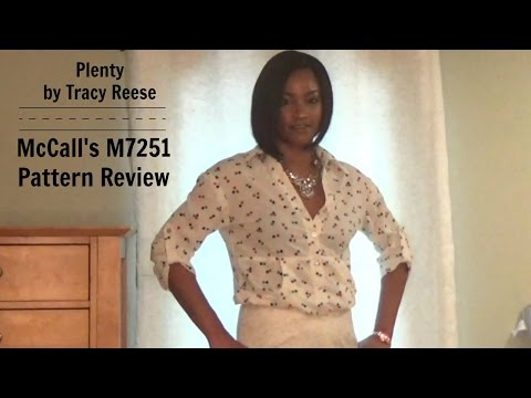 Pattern Review - McCall's M7251 (Plenty ~ by Tracy Reese)