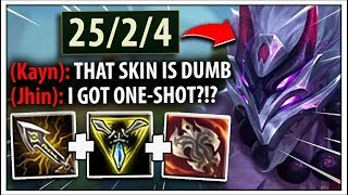 So Riot JUST released Blood Moon Tryndamere...and it's INSANE! ;) - League of Legends