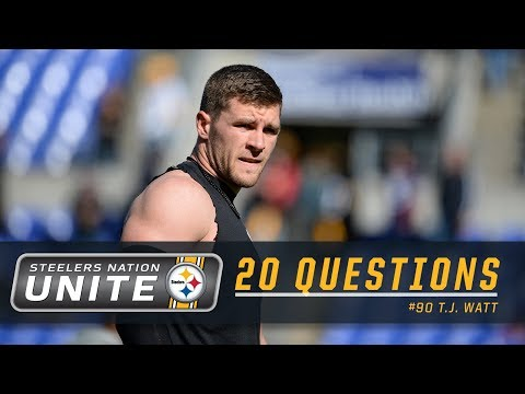 T.J. Watt's Netflix Binge Watch List | Steelers 20 Questions