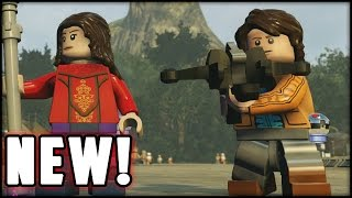 LEGO Star Wars The Force Awakens - Customs - Creating Dipper & Mable Gravity Falls!