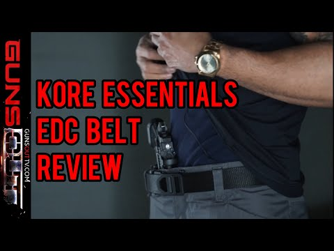 Kore Essentials EDC Belt Review (Every Day Carry)