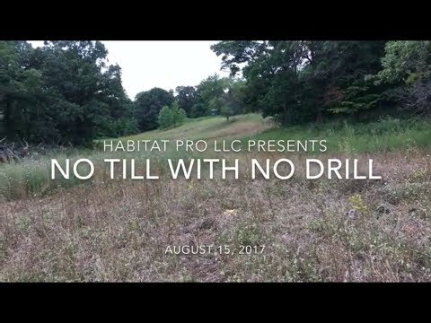 No Till With No Drill