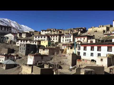 Kibber Village 4200 Meters above sea level. Himachal Pradesh India