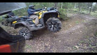 Atv Покатука на 100 км Brp Xmr 1000 Yamaha Grizzly 700