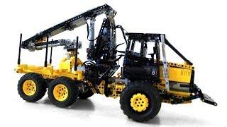LEGO Technic Forest Equipment - Skidder & Forwarder