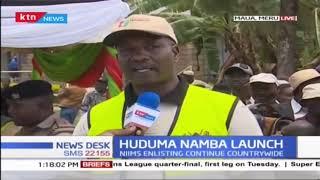 Meru County formerly launches Huduma Namba registration exercise