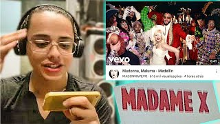 Baixar React: Madonna, Maluma - Medellín   Colornicornio
