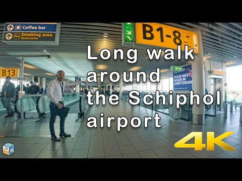 Long transit at Amsterdam Airport Schiphol
