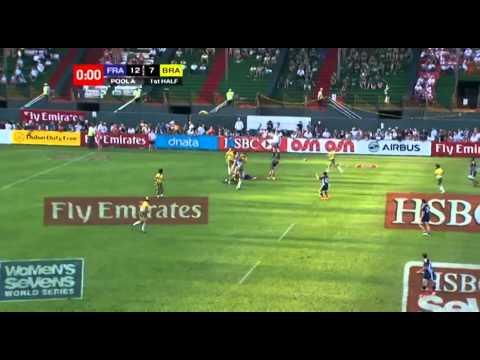 Emirates Airline Dubai Rugby Sevens - France v Brazil