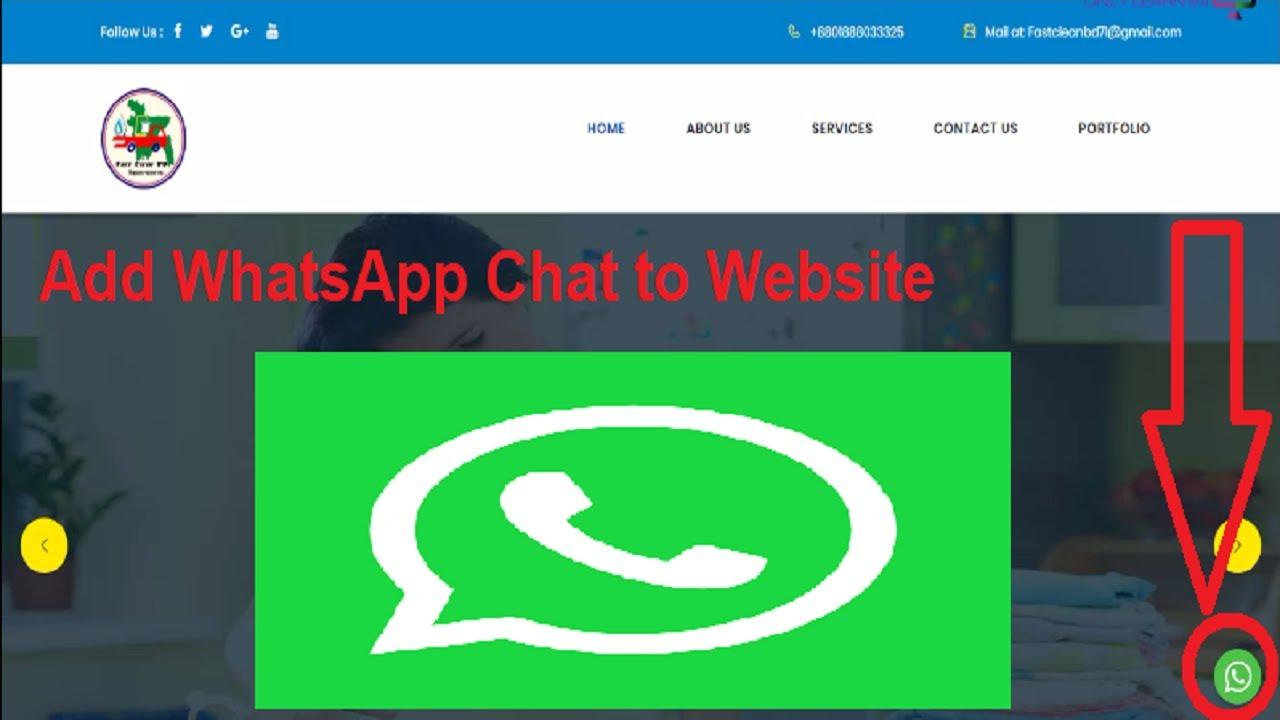 Add WhatsApp Chat to Website. আপনার ওয়েবসাইটে whatsapp বাটন এড করুন।