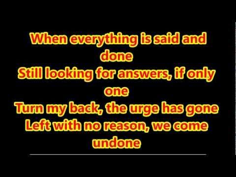 PendulumThe island lyrics
