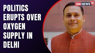 Amit Malviya: Andolanjeevis Are Blocking Roads Hurdling Oxygen Supply | COVID19 News | CNN News18
