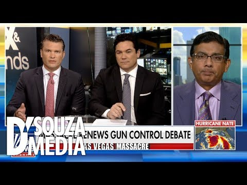 BRILLIANT: D'Souza shuts down argument for gun control