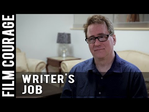 A Writer's Job Is To Voice Things That People Can't Say by David Willis