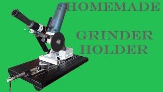 Angle Grinder Holder DIY