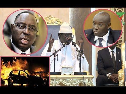 """Son cortège arrêté, Serigne Moustapha SY avertit et menace: """"Macky Sall iow ak Aly Ngouille..."""""""