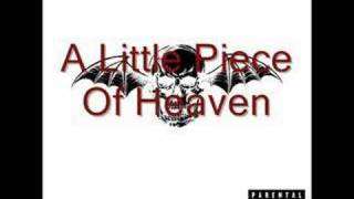 A Little Piece Of Heaven- Avenged Sevenfold- Chipmunks