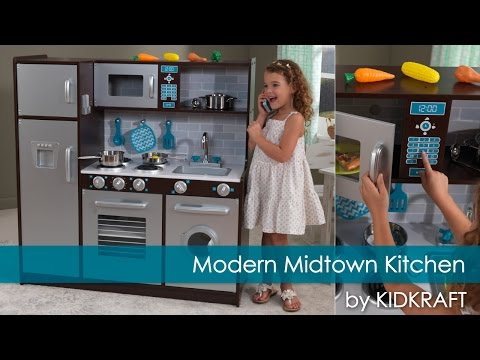 Children's Modern Midtown Play Kitchen - Toy Review