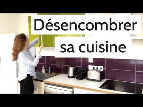 d sencombrer sa cuisine en 3 tapes cuisine minimaliste youtube. Black Bedroom Furniture Sets. Home Design Ideas
