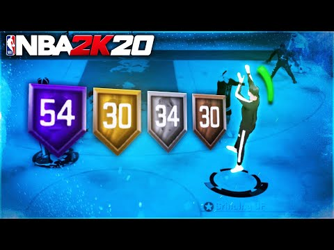 MOST OVERPOWERED SPEEDBOOSTING SHARPSHOOTER BUILD ON NBA 2K20!! AUTOMATIC GREENS BEST BUILD NBA 2K20