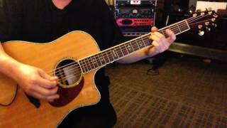 Alternate Tuning DFCEAC - Key F Major