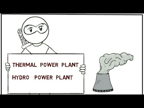 Power plant's # generation of electrical energy
