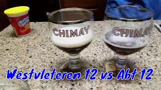 Westvleteren 12 vs St. Bernardus Abt 12 Beer taste test comparison