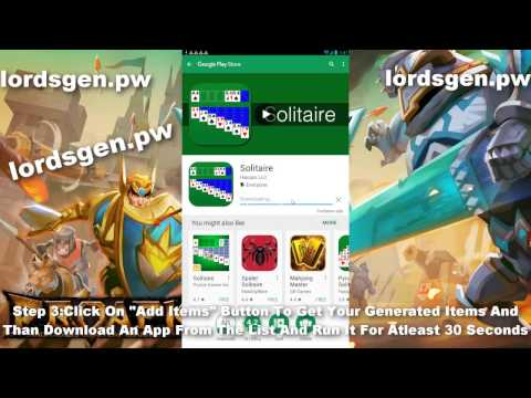 Lords Mobile Hack - Lords Mobile Gems Hack Works! (IOS And Android) Updating Daily