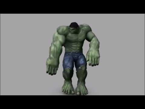 Hulk Dancing to Tempurature by Sean Paul