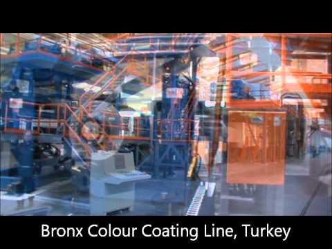 Bronx Continuous Colour Coating Line Turkey.wmv