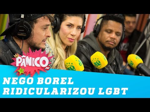 Nego do Borel ridicularizou público LGBT diz Fefito