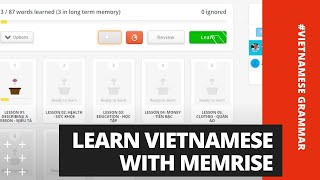 Learn Vietnamese With Memrise | Learn Vietnamese With SVFF