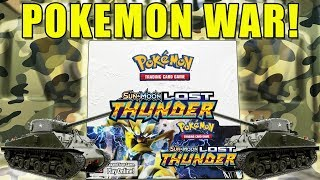 Pokemon Lost Thunder Booster Box WAR!!!