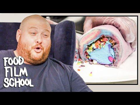Action Bronson Reviews The Internet's Most Popular Food Videos | Food Film School | Bon Appétit
