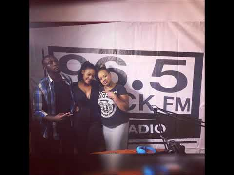 Interview with Iris Kaingu on Rock FM Zambia hosted by Chromez & Nonzee
