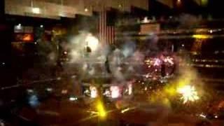 Best Indoor Firework Display at Fergie concert